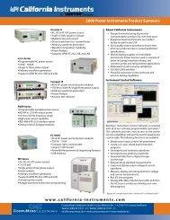 Programmable AC & DC Power Systems - Compumess Elektronik ...