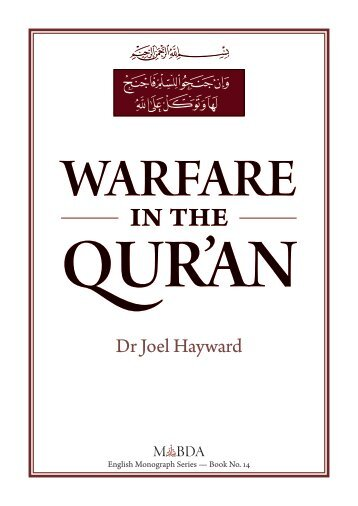 Warfare - The Royal Islamic Strategic Studies Centre