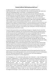 Rostock definiert Rechtswissenschaft neu! - Universität Rostock