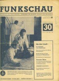 Funkschau, Ausgabe 10 vom Oktober 1942 über russische Röhren