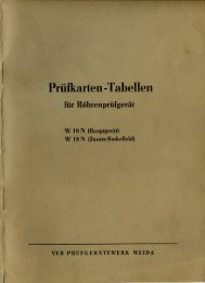 PDF-Datei mit der Prüfkartentabelle zum W18N