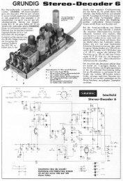 GRUNDIG Stereo-Decoder 6