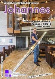 neue Gemeindezeitung - Evangelische Johannes-Kirchengemeinde ...