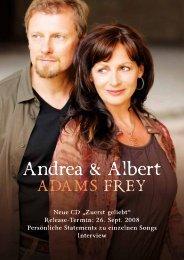 Biographie über Andrea & Albert Frey - Johannesgebetskreis.at