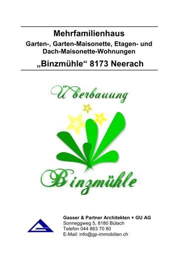 Mehrfamilienhaus - Bonello & Partner Immobilien GmbH