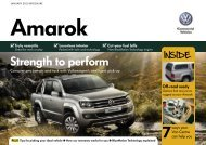 January 2013 brochure amarok - Return to home