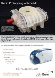 Rapid Prototyping with Solido - John Burn
