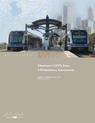 Charlotte's LYNX Line - John Locke Foundation