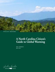 A North Carolina Citizen's Guide to Global Warming - John Locke ...