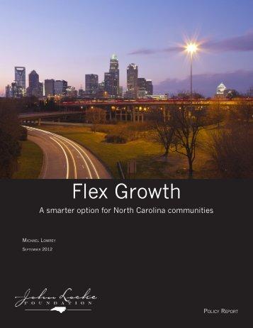Flex Growth - John Locke Foundation