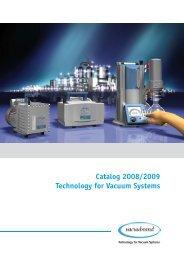 Catalog 2008/2009 Technology for Vacuum Systems - John Morris ...