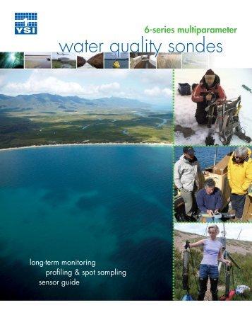 YSI 6-Series multiparameter water quality sondes - John Morris ...