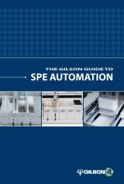 The Gilson Guide to SPE Automation (PDF) - John Morris Scientific