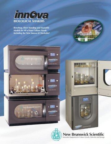 New Brunswick Scientific Innova Catalogue PDF - Asistec