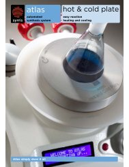 Hot & Cold Plate: Easy Reaction, Heating and Cooling (PDF)