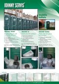 mobile toilets - Johnny servis - Page 2