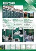 mobile toiletten - Johnny servis - Seite 2