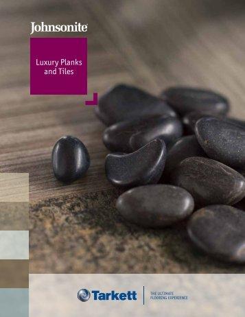 Luxury Planks and Tiles Luxury Planks and Tiles - Johnsonite