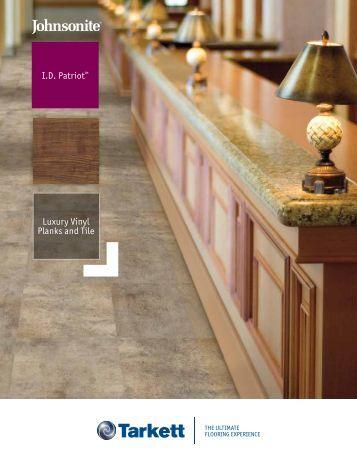 I.D. Patriot™ Luxury Vinyl Planks and Tile - Johnsonite