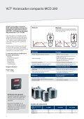 VLT® Arrancador Suave - comser ltda. - Page 4