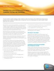 Enhance cics application quality with powerful - Compuware ...