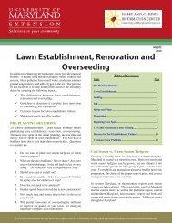 HG102 Lawn Establishment Renovation Overseeding
