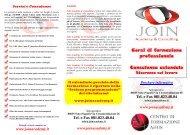 Corsi di formazione professionale Consulenza ... - Joinacademy.It