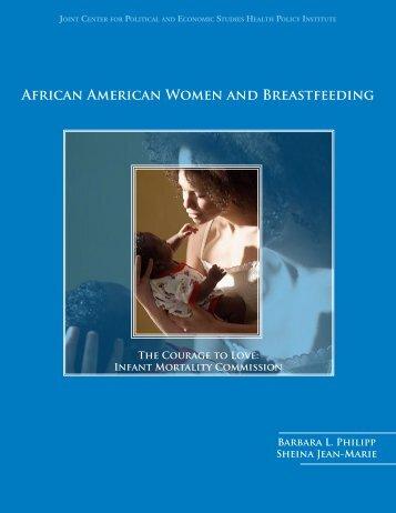 AFRicAN AMERicAN WOMEN ANd BREAStFEEdiNG