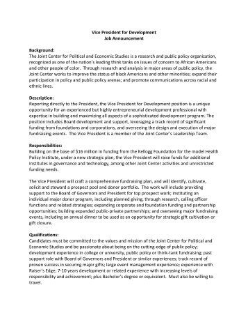 Vp Technology Job Description. Vice President Of Operations Job