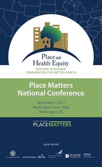Place Matters National Conference - Joint Center for Political and ...