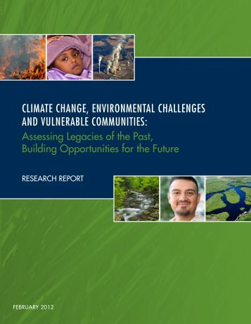 Climate Change, environmental Challenges and vulnerable