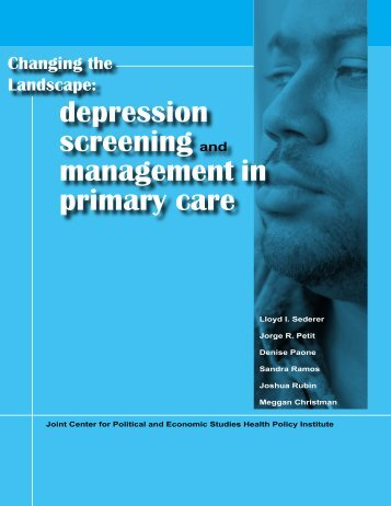 depression screening and management in primary care