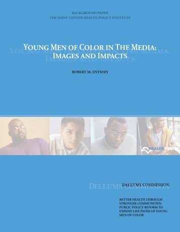 Young Men of Color in the Media - Joint Center for Political and ...
