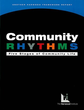 Community Rhythms - Joint Center for Political and Economic Studies
