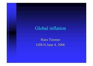 Global inflation