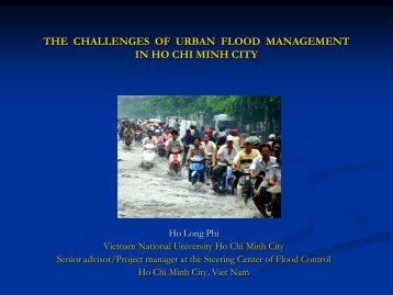 climate change and urban flooding in ho chi minh city - Tokyo ...