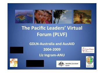 The Pacific Leaders' Virtual Forum (PLVF)