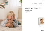 BABY'S- AND CHILDREN'S FURNITURE - Joinwell Limited