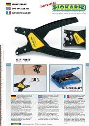 Clip Press Zange - Jokari