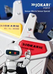 Sensor Mini & Sensor Special - Jokari