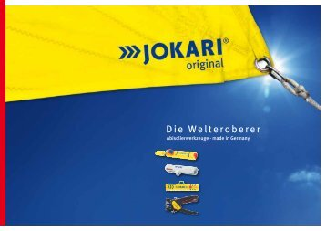 Imagebroschüre - JOKARI