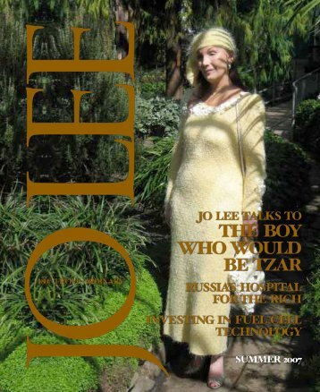WITS END - JO LEE Magazine