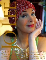 Download the current issue. - JO LEE Magazine