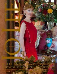 Jo Lee Anniversary Exclusive: - JO LEE Magazine