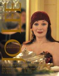 Donna Saslove And Simon Lugassy - JO LEE Magazine