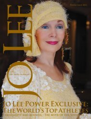 Jo Lee Power Exclusive: - JO LEE Magazine