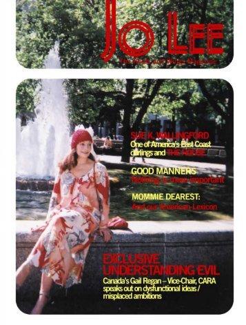 jo_lee_aug_02.pdf - JO LEE Magazine