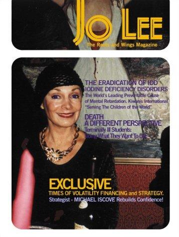 The Hottest New E-Zine! - JO LEE Magazine
