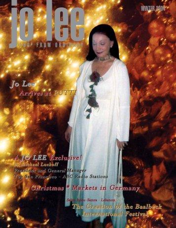 JO LEE Magazine