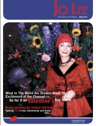 FEBRUARY 2002 - JO LEE Magazine